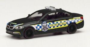 1/87 HO scale cars BMW 5 series Victoria Police Highway Patrol. Herpa