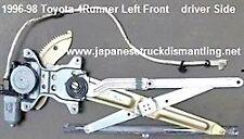 1996-98 Toyota 4Runner Window Regulator With Motor Left Front 8572035050