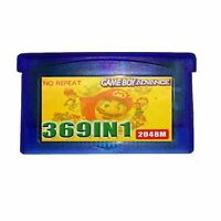 369 In 1 Classic Cartridge Card for Game Boy Advance GBA SP GBM NDS NDSL