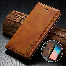 Leather Wallet Sim Card Flip Cover Case For Samsung Galaxy Note 10 S10/S9+ Plus