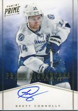 2011/12 Panini Prime #13 Brett Connolly Prime Signatures Gold - HARD SIGNED
