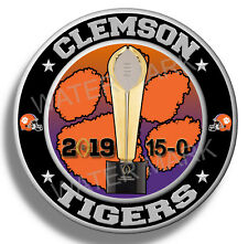 Clemson Tigers CFP 2019 National Championship, College Football NCAA 5'' sticker