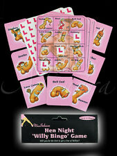 NEW - Willy Bingo Hen Night Do Party Game Up to 12 Players