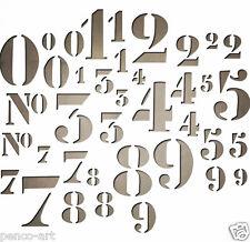 """Sizzix Sizzlits 38 Stencil numéros 4 Tailles Die Set 661187 1/2"""" 3/4"""", 7/8"""" & 1.5"""""""