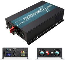 Pure Sine Wave Inverter 5000 Watt 24V to 120V Solar Power Dc Ac Converter Motor