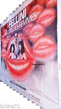 fellini LA CITE DES FEMMES !  affiche cinema geante 4x3m 1980