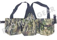 Falconry Camo Vest, Hawking, Hunting, Jungle, Wild Vest Brown Size(M,L,XL,XXL)
