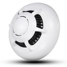 Rilevatore di fumo NASCOSTA SPY CAM WIFI HD 1080p MINI DV DVR TELECAMERA IP CAM