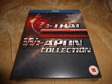 Lethal Weapon 1-4 (1987, 1989, 1992, 1998) [5 Disc Region Free Blu-ray]