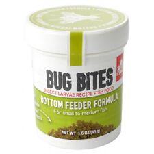 Fluval Bug Bites Bottom Feeder Formula Granules for Small-Medium Fish  1.59 oz