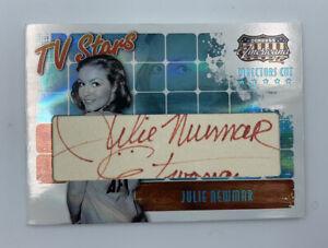 TV STARS Julie Newmar Autograph Card TS-JN