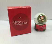 Disney Collectible Snowglobe Mickey Mouse Minature Jc Penny - 2011 - Snow Globe