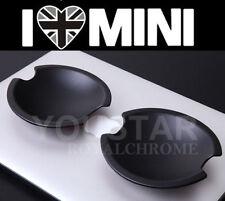 USA Seller x2 MATT BLACK Door Handle Cup Shell MINI Cooper S R50 R52 R53 R55 R56