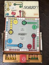 Vintage Sorry Board Game 1964 Slide Pursuit Parker Brothers!!