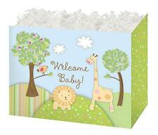 Jungle Baby Gift Box deco base for gift baskets sm