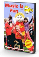 NEW! MUSIC IS FUN WITH JO JINGLES DVD Songs Rhymes Kids Nursery Early Music
