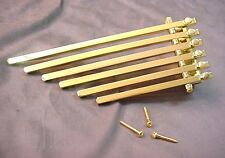 WELL MADE FINGER STYLE TAILPIECE FOR ARCHTOP GUITAR - GOLD