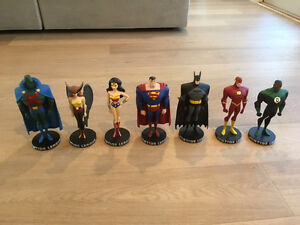 Justice League Animated Maquette Statue Complete Set 7 Artist Proofs #33 of 200