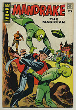 Mandrake The Magician #5 (1967) Flying Saucer Story/Cover - King A