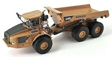 Volvo A40D - Dump Truck 1/87th Scale Model Yellow/Grey New Boxed Tracked 48 Post
