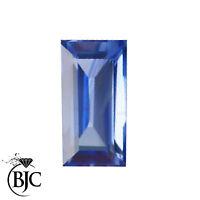 BJC® Loose Natural Blue Sapphires Sapphire Baguette Cut Multiple Size Options
