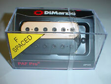 DIMARZIO DP151 PAF Pro Humbucker Guitar Pickup - BLACK/CREME - F-SPACED