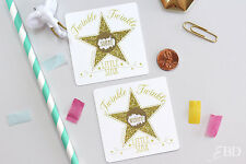Twinkle Little Star Gold Baby Shower Scratch Off Game Cards - Baby Shower Game