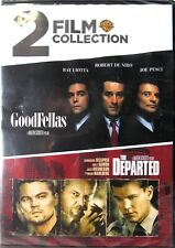 Goodfellas / The Departed Dvd 2 Film Collection >Sealed< Leonardo DiCaprio