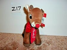 """New Rudolph Red Nosed Reindeer 8"""" Plush"""