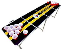 Pittsburgh Steelers Beer Pong Table with holes.