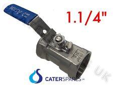 1.25 in (ca. 3.17 cm) Friggitrice Hi temperatura nominale valvola di spurgo dell'olio con manico di bloccaggio di sicurezza