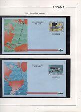 España Aviones Aerogramas del año 1982 (CZ-939)