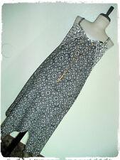 Speed Control Bohemian Boho Mandala Handkerchief Hem Woven Necklace Dress 3X
