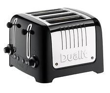 Dualit Toaster, 4 Slice Lite Toaster, Black