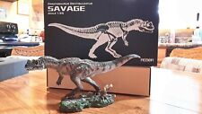 Savage dinosaur model from Rebor 2015 1:35 scale pre-owned