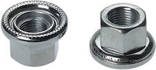 FIXED GEAR TRACK  FRONT WHEEL 9 x 1 AXLE NUTS PAIR