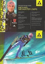 Autogramm AK Michael Neumayer Skispringer Skisprung handsigniert wie alle