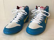 reputable site 37a28 19a9c Nike Dunk High Premium SB Familia Blue Ox 313171 471 Sz 10