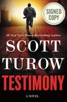 Scott Turow Testimony book hard cover signed autographed