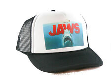 NEW Jaws the movie Trucker Hat mesh hat snapback hat Black