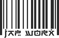 JAPWORX BARCODE VINYL CAR STICKER jdm decal drift logo jap worx car club