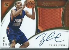2014-15 Panini Immaculate Premium Autograph Auto Patch Rookie Tyler Ennis /25