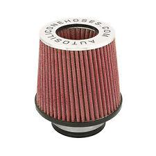 Filtro de rendimiento rojo Inducción de Aire Doble Cono