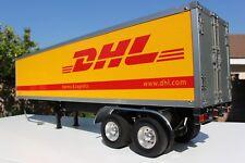 Custom Tamiya 1/14 DHL Trailer Container Motorized Support Leg + Light Kit + Rim