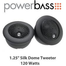 "Powerbass 3XL-2S - 1.25"" Silk Dome Tweeter 120 Watts"