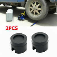 2Pcs Rubber Pad Rubber Block Ramp Jacking Pads Trolley Jack Adapter Lifting 5CM