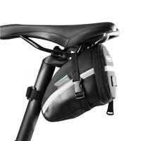 1.2L Grande Capacité Portable Sacoche de Vélo Pochette de Selle Sac Arrière