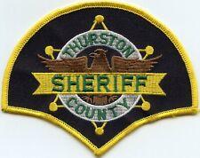 THURSTON COUNTY WASHINGTON WA SHERIFF POLICE PATCH