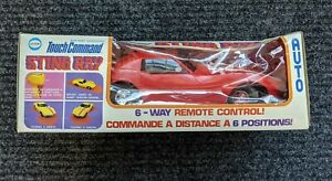 COX Touch Command Corvette Sting ray remote Control Car New in Box Vintage Toy