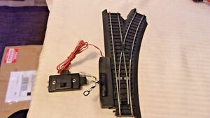 HO Scale Life-Like Life Loc Right Hand Switch with Switch Machine Control 583207